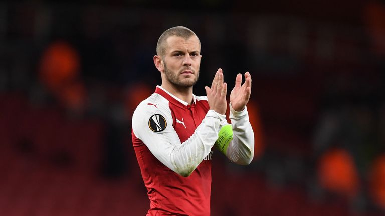 Wilshere's contract at Arsenal is set to expire next summer