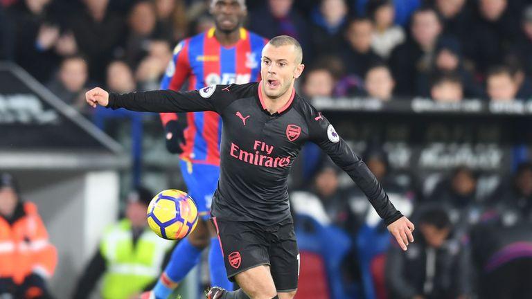 Jack Wilshere deserves credit for recovering from a broken leg, according to Arsene Wenger