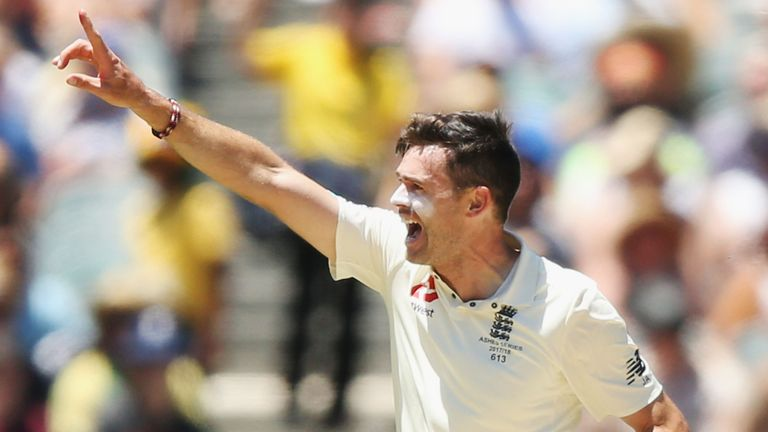 Anderson became the fifth-highest wicket-taker in Test cricket