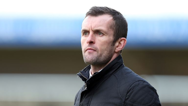 Nathan Jones' Luton were beaten by Chesterfield