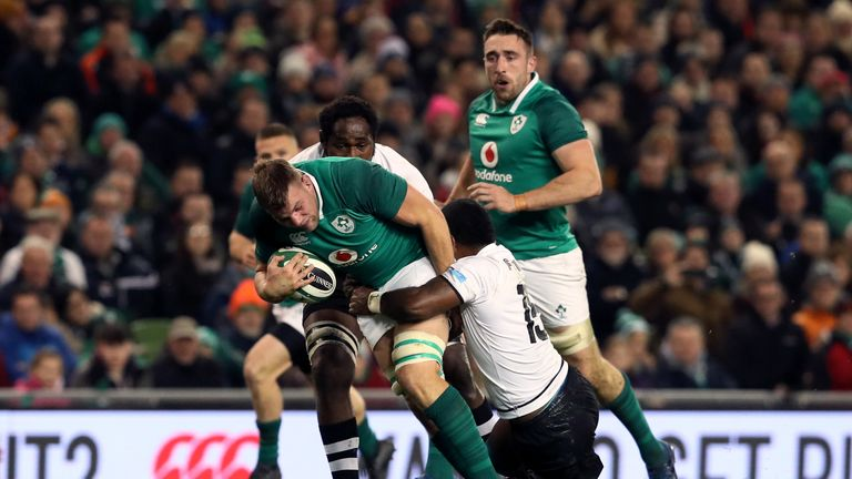 Murphy made his Ireland comeback in the recent victory over Fiji