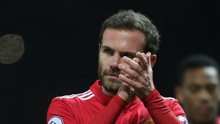 Juan Mata says Manchester United's defeat to Manchester City was 'painful'