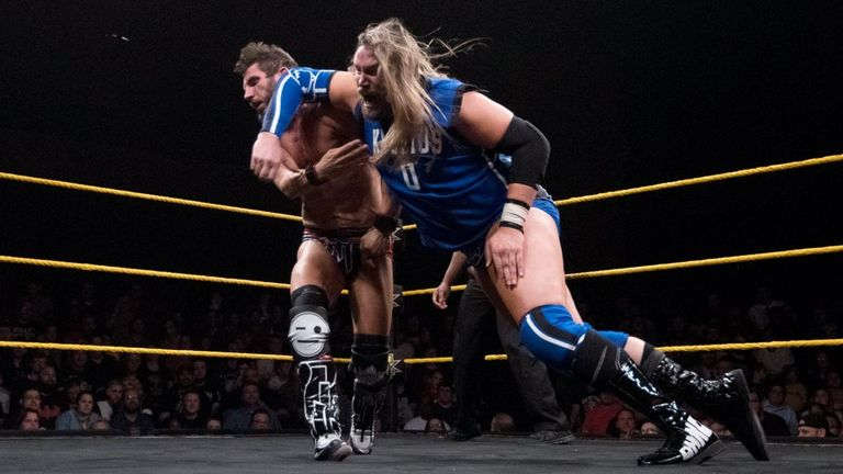 Kassius Ohno is without an NXT storyline going into 2018