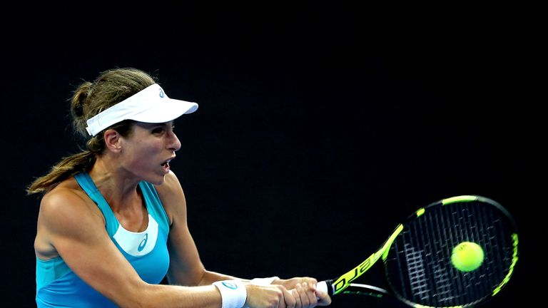 Johanna Konta last played at the China Open in October