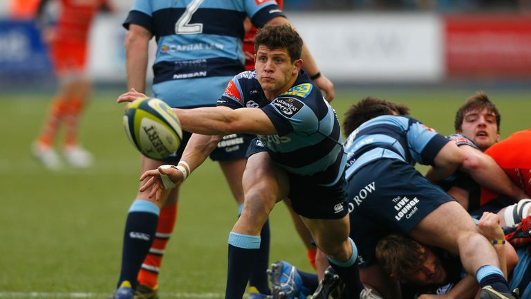 Scrum-half Lloyd Williams has made over 150 appearances for Cardiff Blues