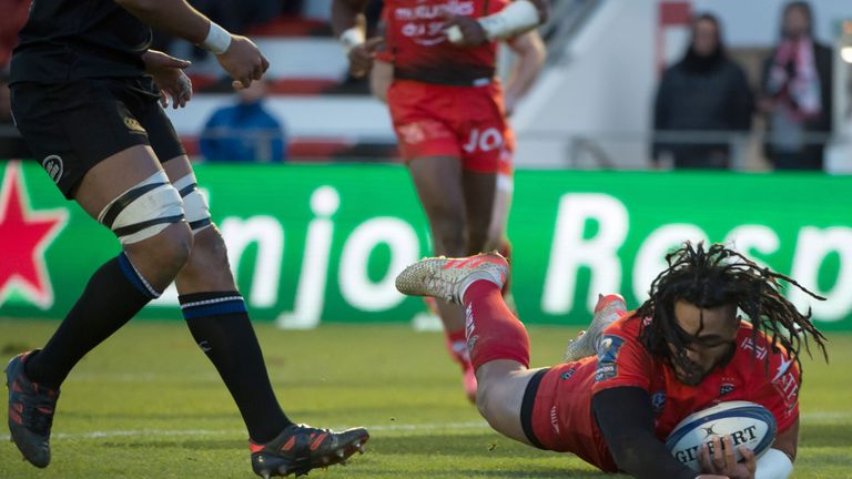 Nonu's try came after a number of missed opportunities for Toulon