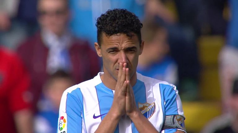 Malaga suffered their fourth straight loss in La Liga with defeat at Getafe