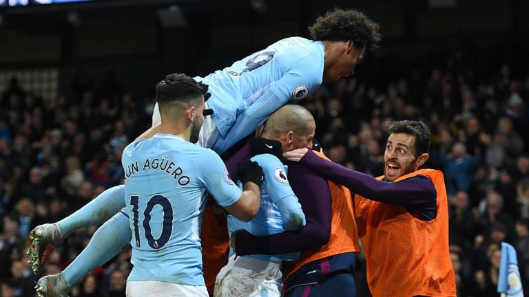 Manchester City have won 13 in a row in the Premier League