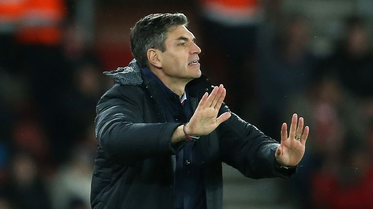 Mauricio Pellegrino was pleased with his side's performance at Old Trafford on Saturday