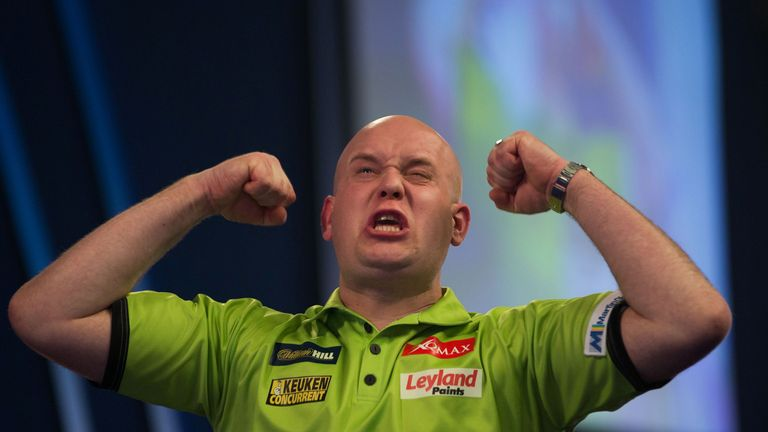 Will anybody emerge in 2018 to challenge Michael van Gerwen on the darts circuit?