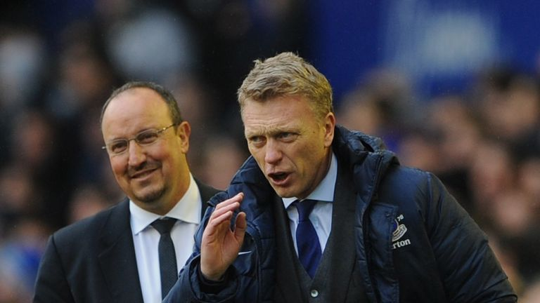Moyes' Everton faced Rafa Benitez during the Spaniard 's six-year stint in charge of Liverpool