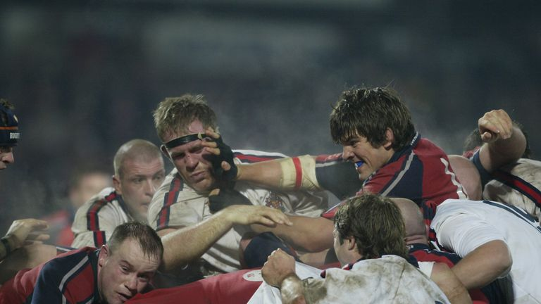 Munster and Gloucester met in the 2003/04 back-to-backs, a year after the 'Miracle Match'