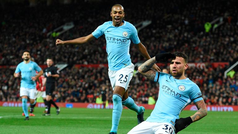 Manchester City beat United 2-1 at Old Trafford on December 10