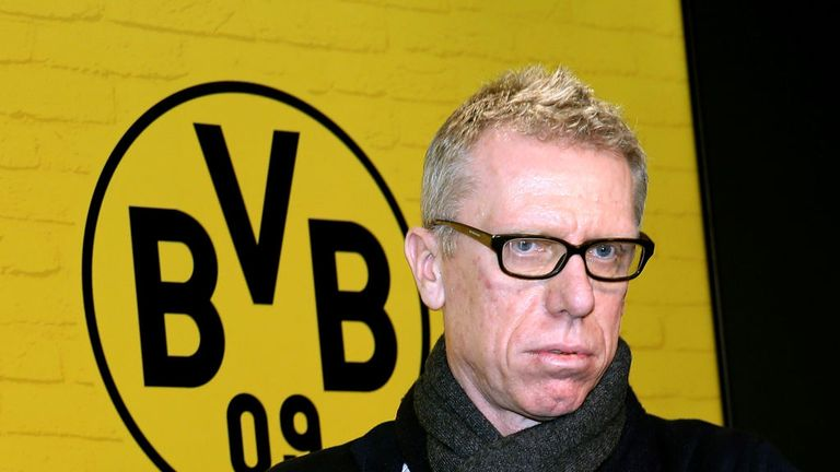 Borussia Dortmund head coach Peter Stoger has won six and drawn five of his 11 games in charge