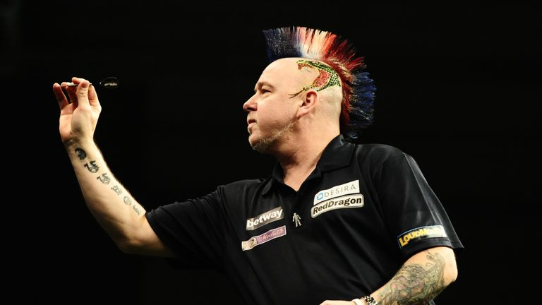 Peter Wright is due to take on Diogo Portela in the first round