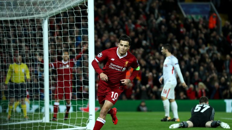 Barcelona made three bids for Coutinho in the summer