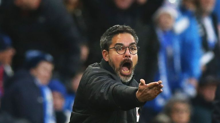 Huddersfield manager David Wagner is keeping an eye on the transfer market