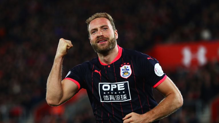 Laurent Depoitre has scored three goals in his last three games for Huddersfield