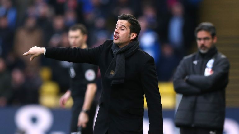 Marco Silva is among the favourites for the vacant Southampton job