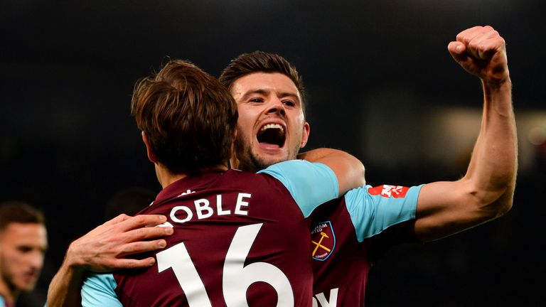 West Ham have kept three consecutive clean sheets