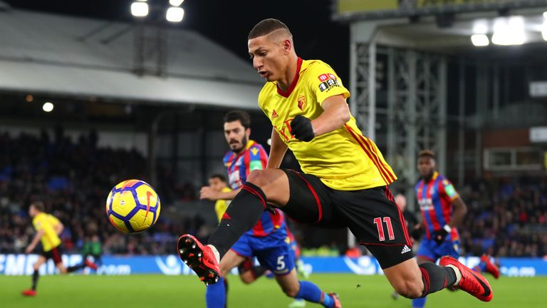 Richarlison shone in the early stages of last season under Marco Silva