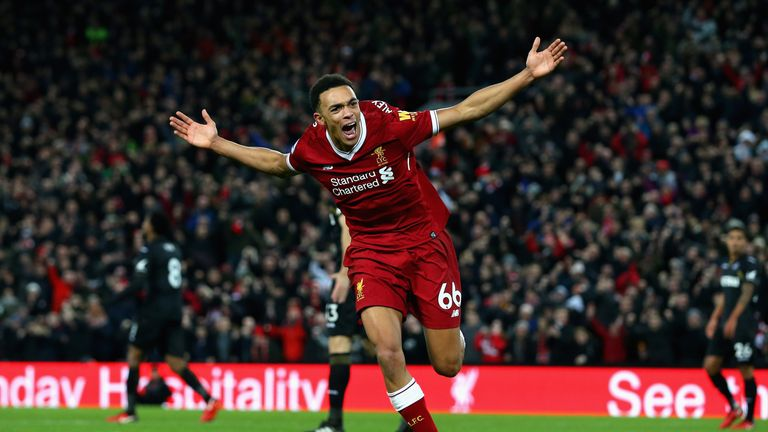 Alexander-Arnold has enjoyed a breakout season