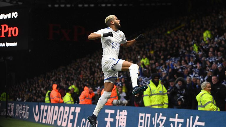 Mahrez is enjoying his football with the Foxes this season, insists Puel