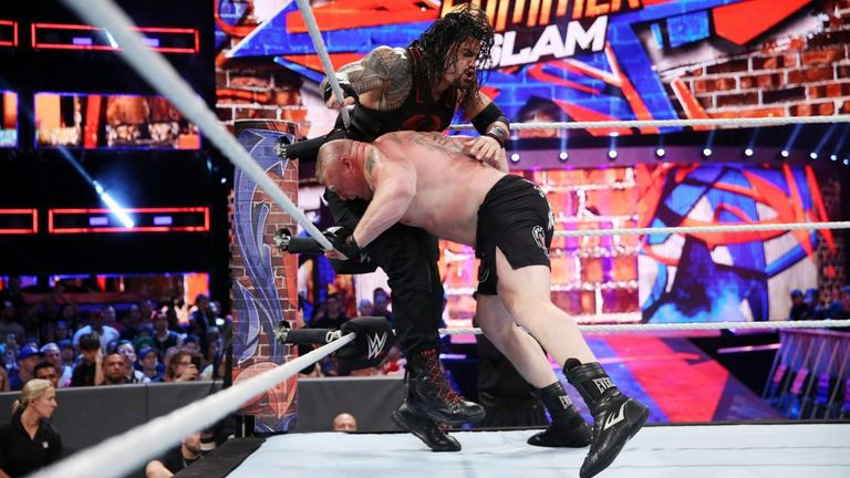 Roman Reigns and Brock Lesnar have crossed paths on a few occasions