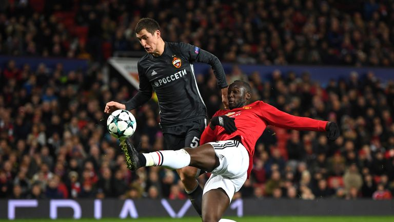 Romelu Lukaku hauled United level against CSKA, 66 seconds before Marcus Rashford fired the winner