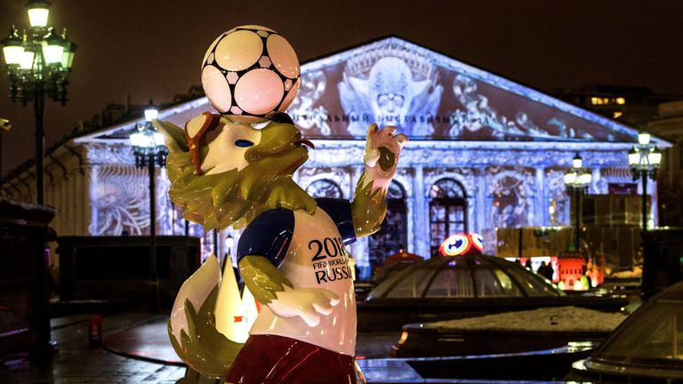 The 2018 FIFA World Cup kicks off in Moscow on June 14
