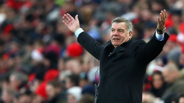 Sam Allardyce has led Everton to three wins and a draw since taking charge at Goodison Park