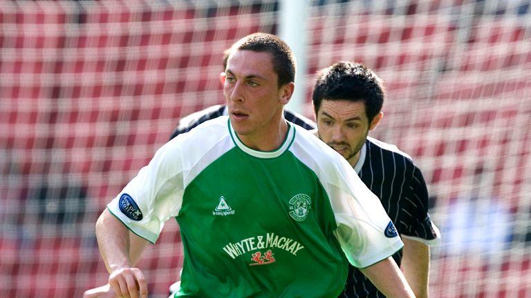 Scott Brown left Hibs for Glasgow in 2007