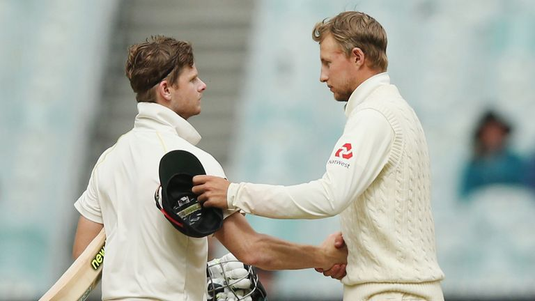 Skippers Steve Smith and Joe Root criticised the MCG pitch after the drawn Test