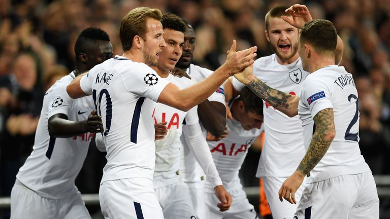 Spurs beat European champions Real Madrid comfortably at Wembley in November