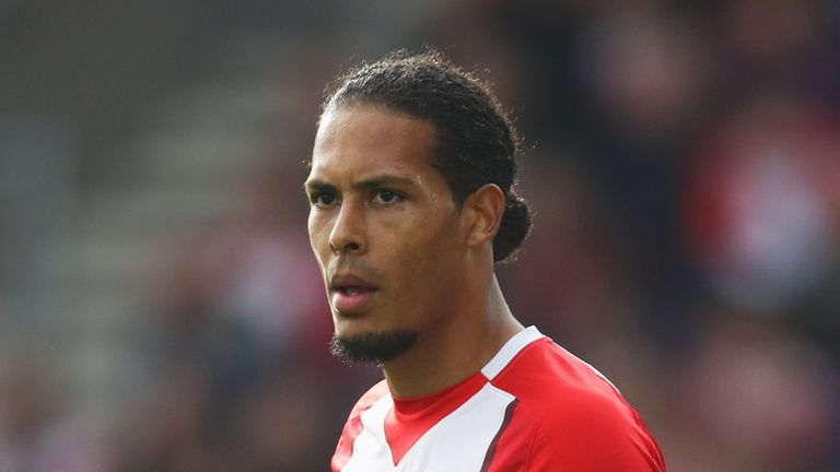 Van Dijk has struggled with injury and loss of form with Southampton in 2017