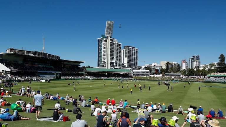 England begin their campaign against South Africa at The WACA