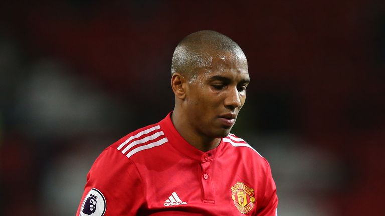 Ashley Young also makes Le Tiss' 23-man squad in defence