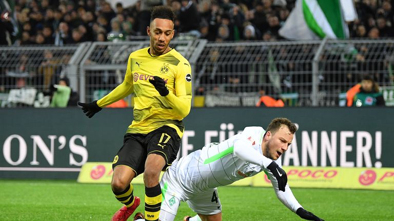 Arsenal had a bid in excess of £50m rejected by Borussia Dortmund for Pierre-Emerick Aubameyang