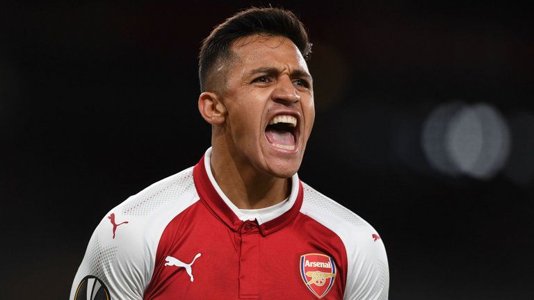 Sanchez scored 80 goals in over three seasons with Arsenal