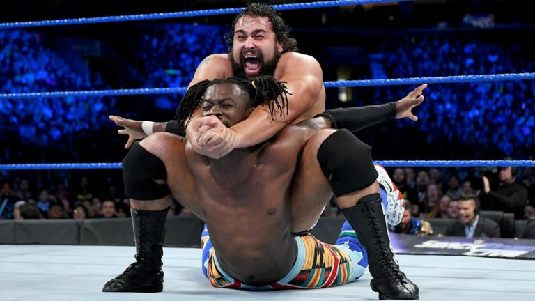 Rusev's version of the cobra clutch is known as the Accolade - and is equally devastating