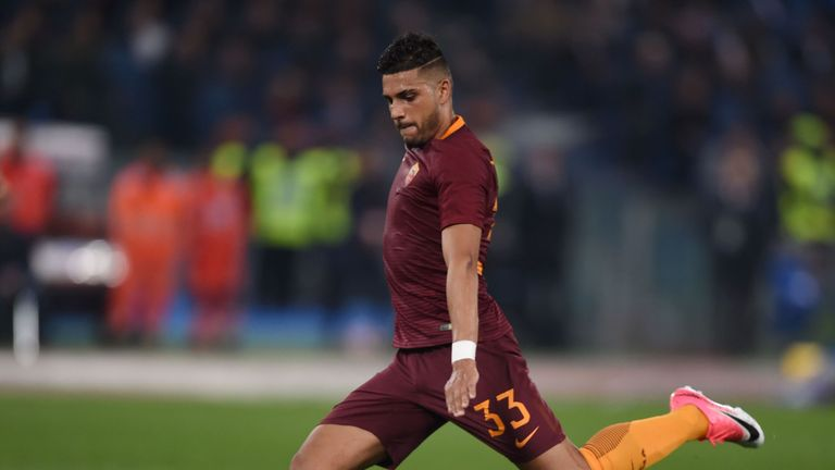 Emerson Palmieri has only made three appearances for Roma since returning from a serious knee injury