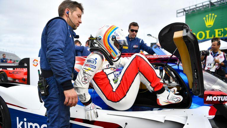 Alonso debuted in Daytona this week