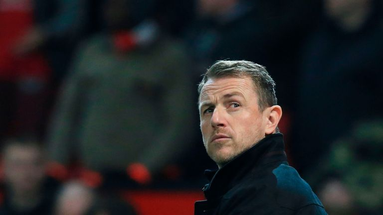 Gary Rowett was pleased with Derby's showing against Manchester United