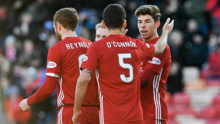 Aberdeen will host Dundee United in round five