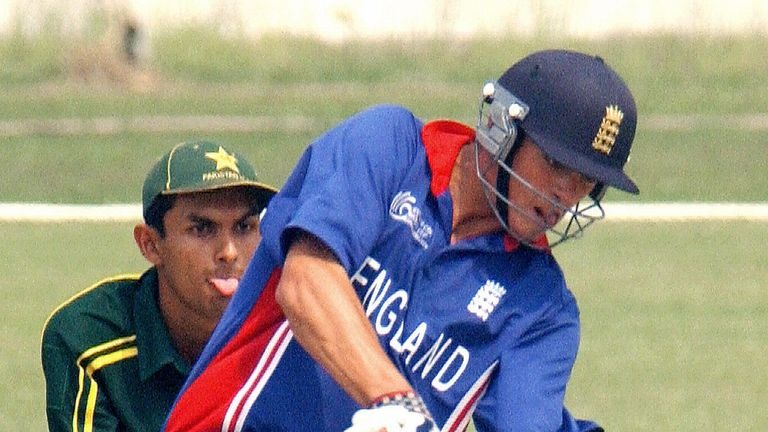 Alastair Cook played in the 2004 tournament