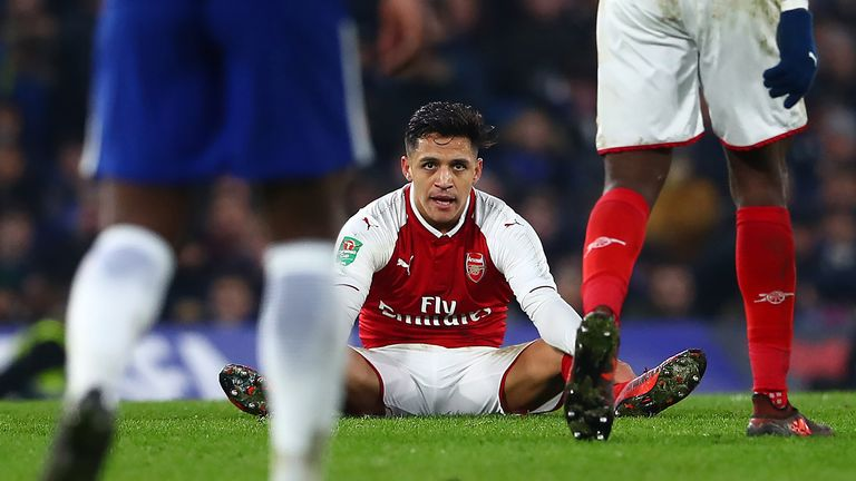 Sanchez spent three-and-a-half years at Arsenal