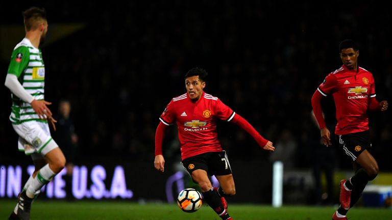 Alexis Sanchez's arrival at United has reduced the need for further signings