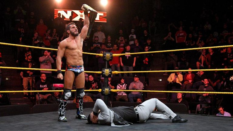Andrade Cien Almas attempted to get one over on Johnny Gargano, but his plan backfired badly