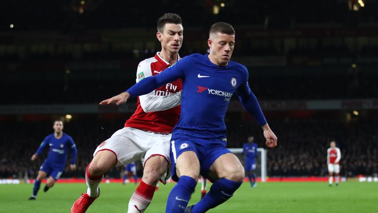 Ross Barkley made his Chelsea debut - but struggled to make an impact