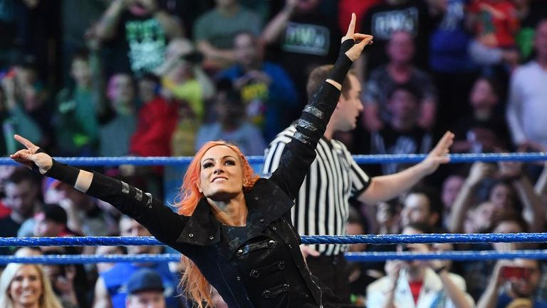 Lynch is hugely popular with British WWE fans - and Foley rates her abilities too